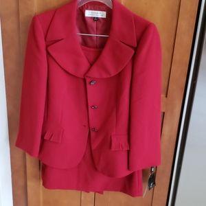 Never worn, Wine colored Tahari Suit